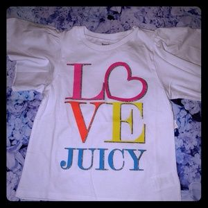 Nwt Juicy Couture Top Girls 5 New